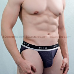 MIG - TANGA LUXUS DARK BLUE PACK2 (XL)